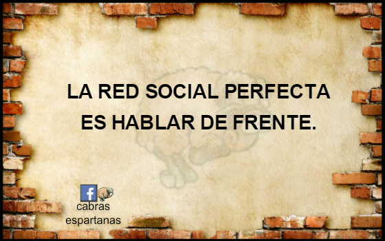 Cartel-red social