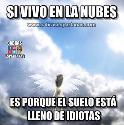 Vivir en las nubes a veces es mejor