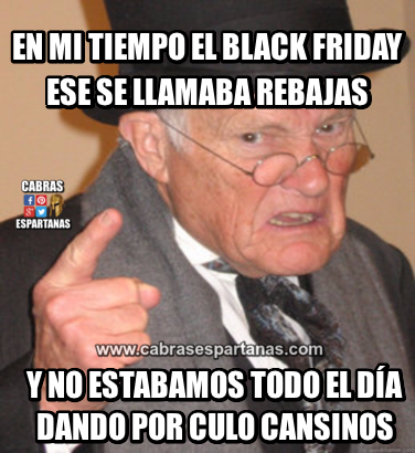 Black Friday que invento es ese